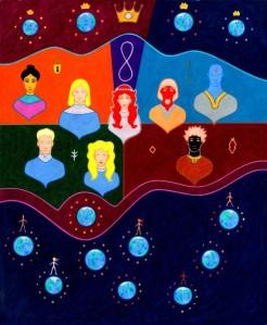 Ancient Prophecies 8, A Paradigm of Nine Worlds