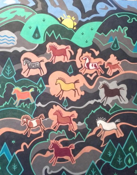 Cave Ponies