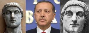 Recep Erdoğan is Constantine I