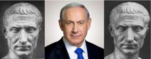 Benjamin Netanyahu is Julius Caesar